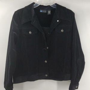 Relativity Velvet Jacket
